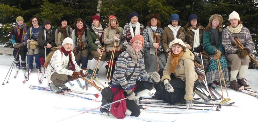 17.1.2009 Veselé poutnice - denní skupinka