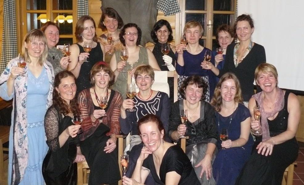 17.1.2009 Veselé poutnice - večerní skupinka