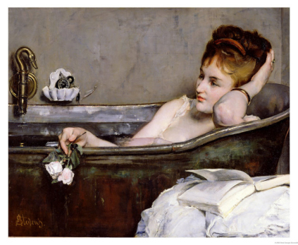Koupel - The Bath, circa 1867 (Alfred Georges Stevens)