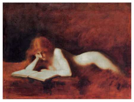 The Reader (Jean-Jacques Henner)