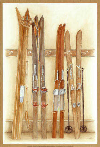 Staré lyže - Old Skis II (Laurence David)